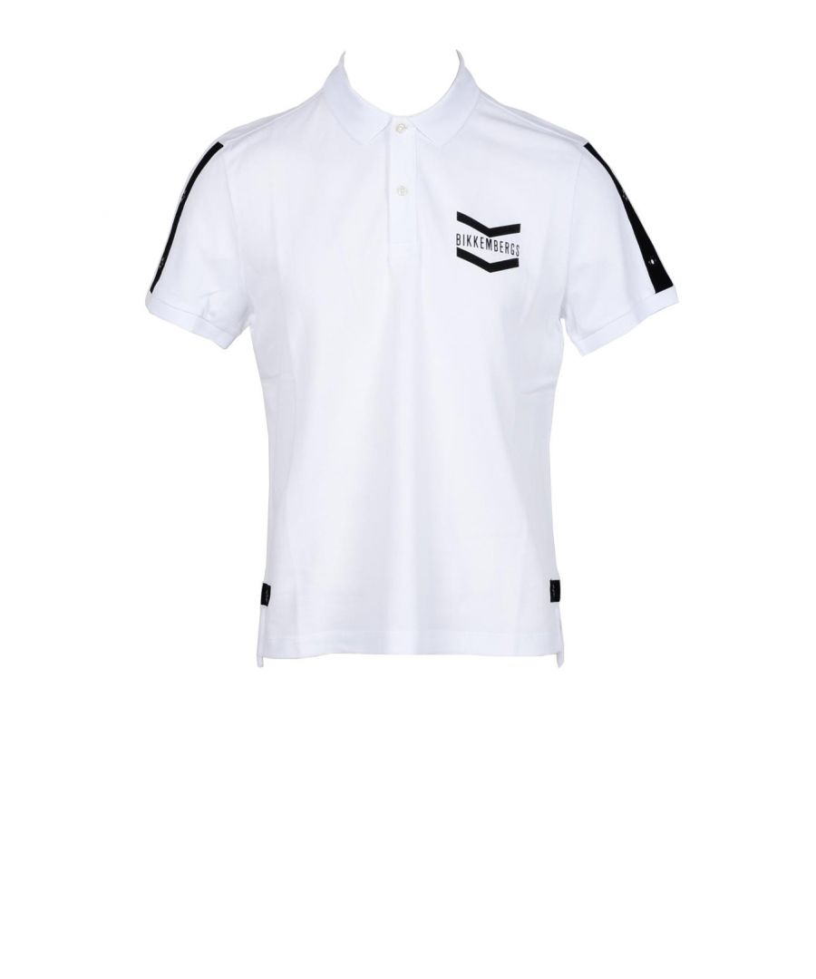Image for Bikkembergs Men's Polo In White