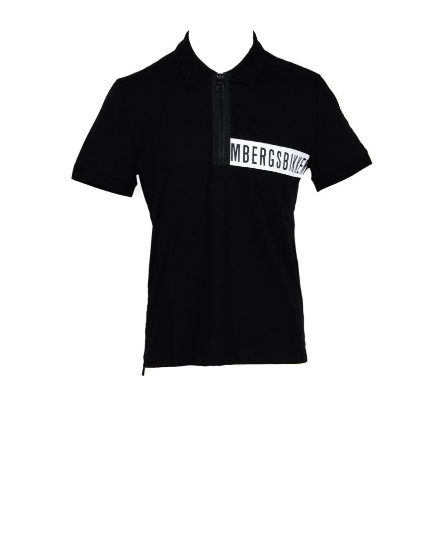 Image for Bikkembergs Men's Polo In Black