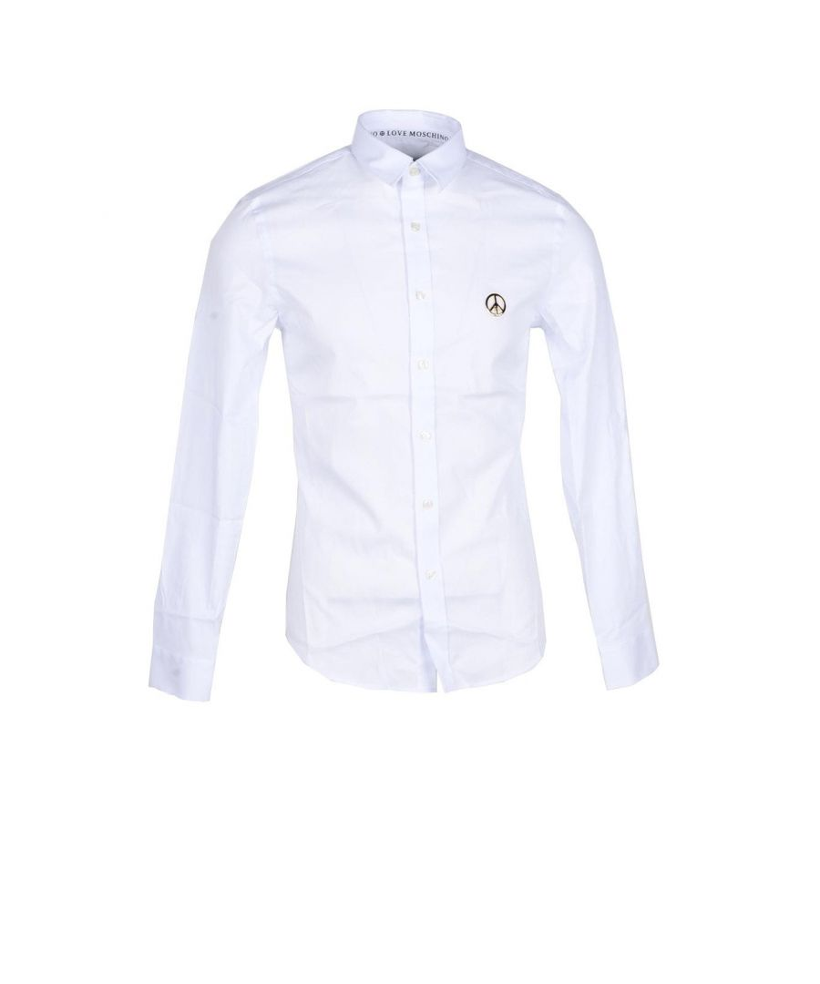 Image for Love Moschino Men's Shirt In White