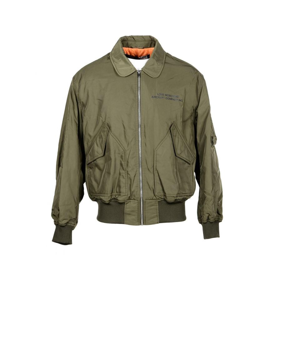 Image for Love Moschino Men's Blazer In Green