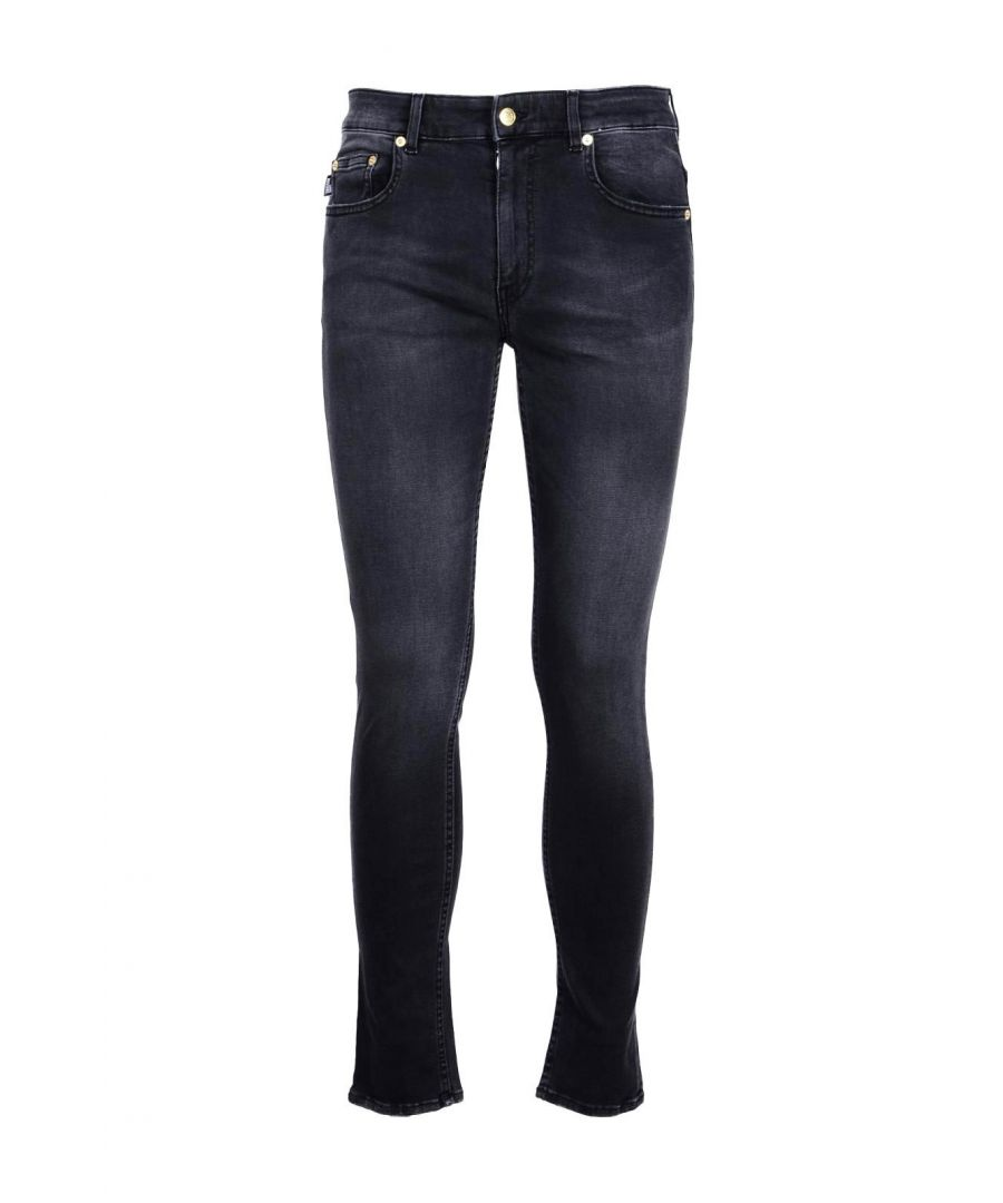 Image for Love Moschino Men's Jeans In Black