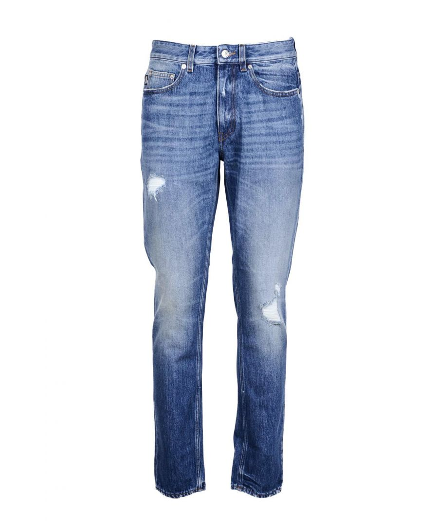 Image for Love Moschino Men's Jeans In Blue