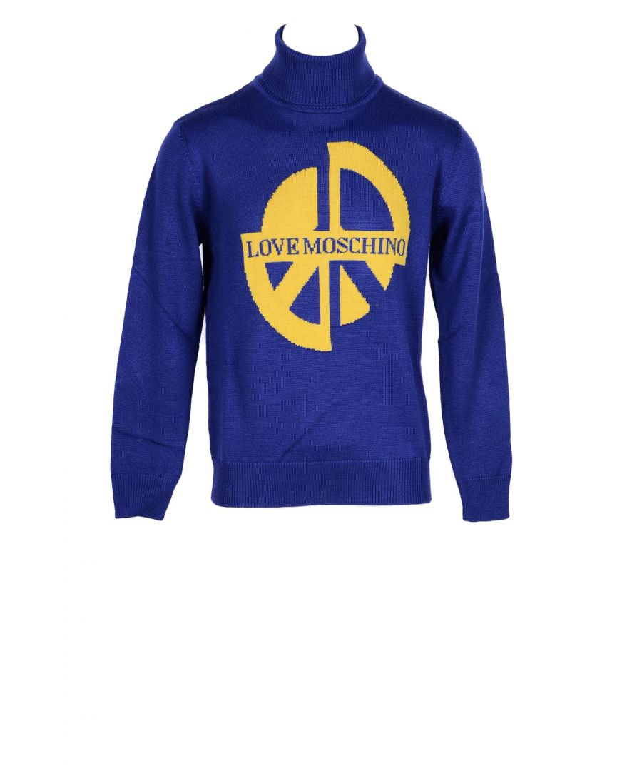 Image for Love Moschino Men's Sweatshirt In Blue