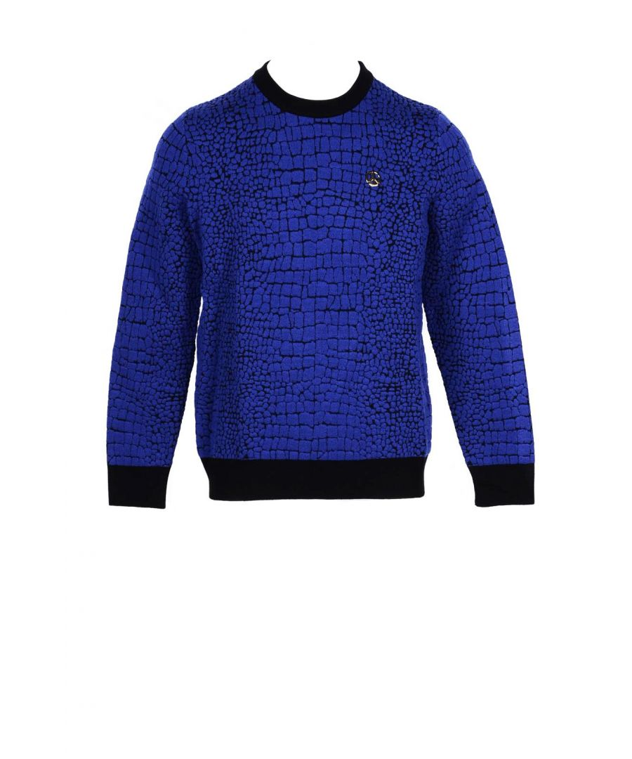 Image for Love Moschino Men's Knitwear In Blue