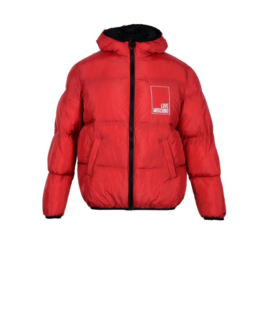 Image for Love Moschino Men's Jacket In Red