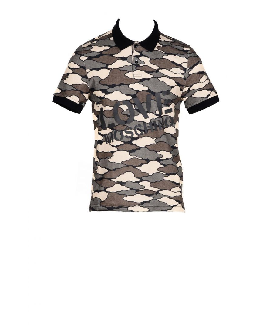 Image for Love Moschino Men's Polo In Green