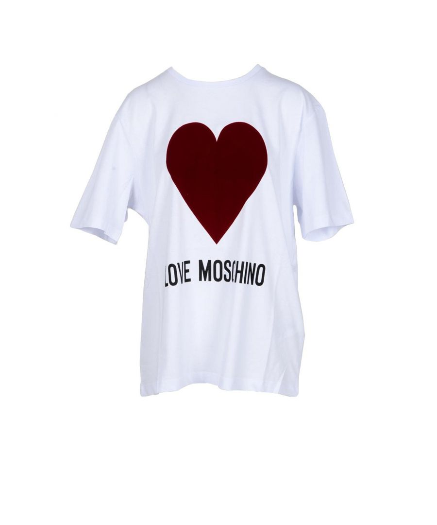 Image for Love Moschino Women's T-Shirt In White