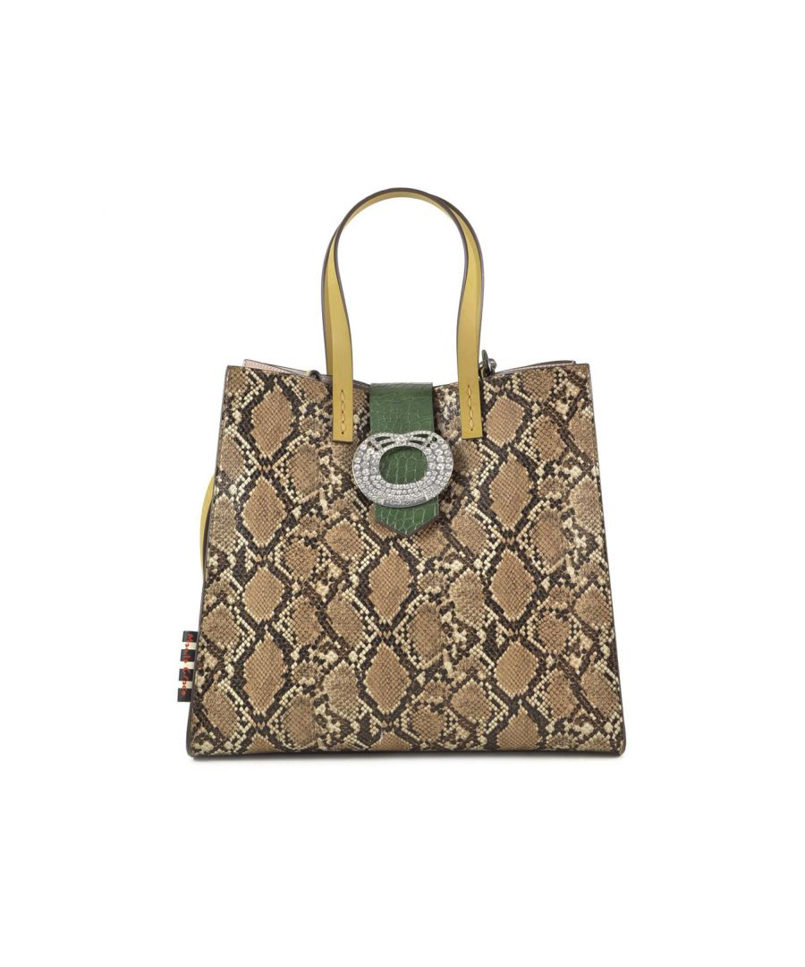 Image for Manila Grace Women's Bag In Brown