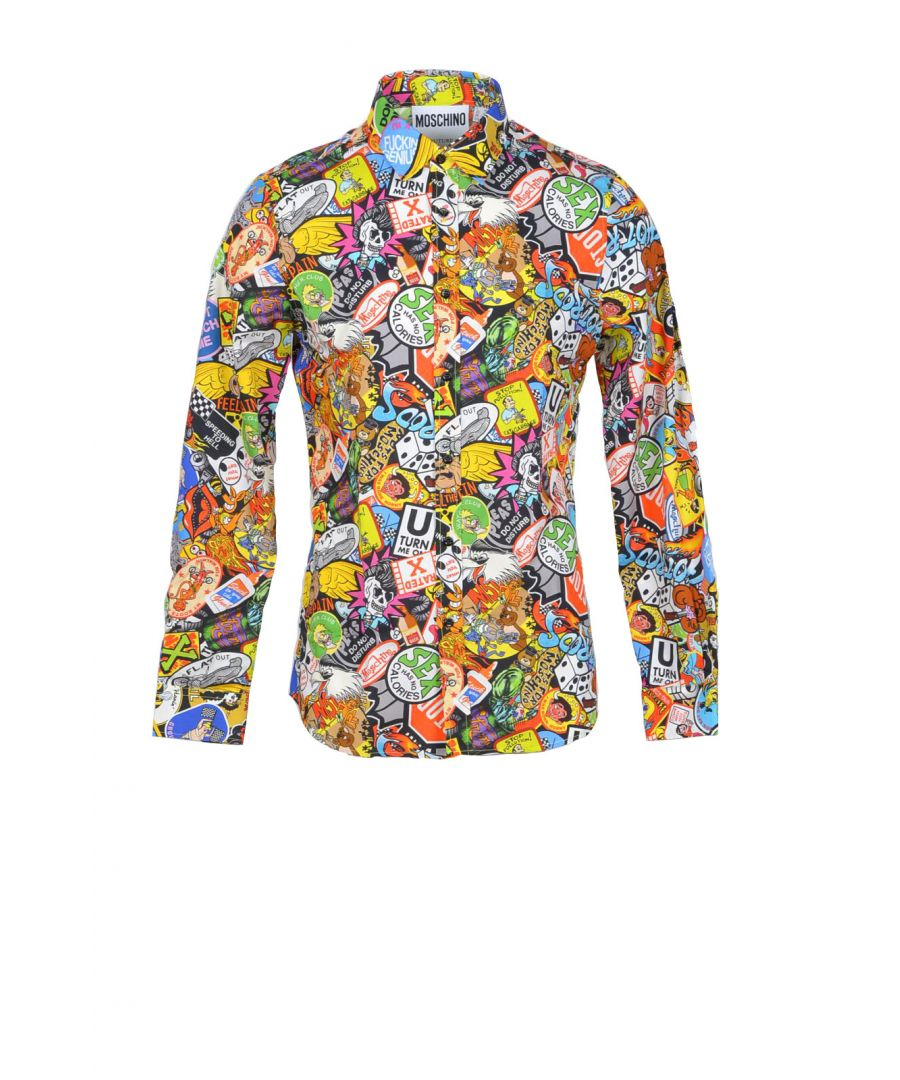 Image for Moschino Couture Men's Shirt In Multicolor