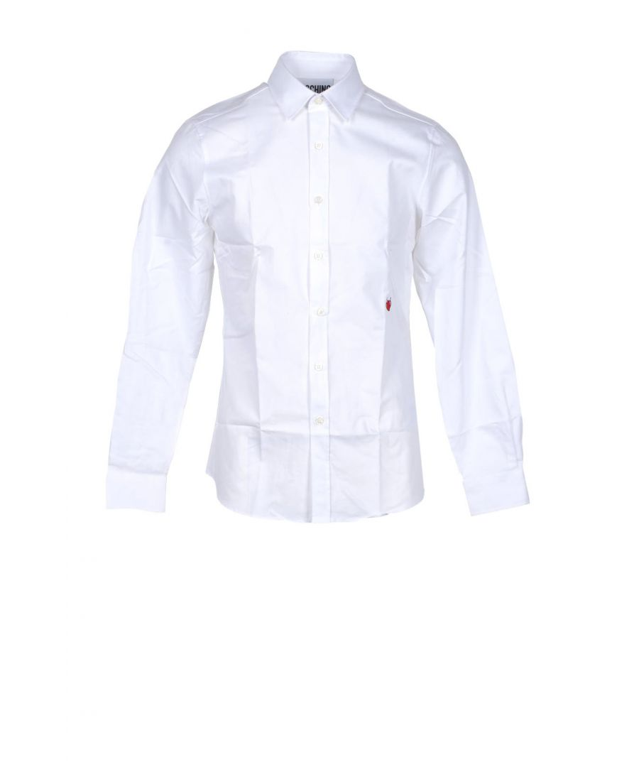 Image for Moschino Couture Men's Shirt In White