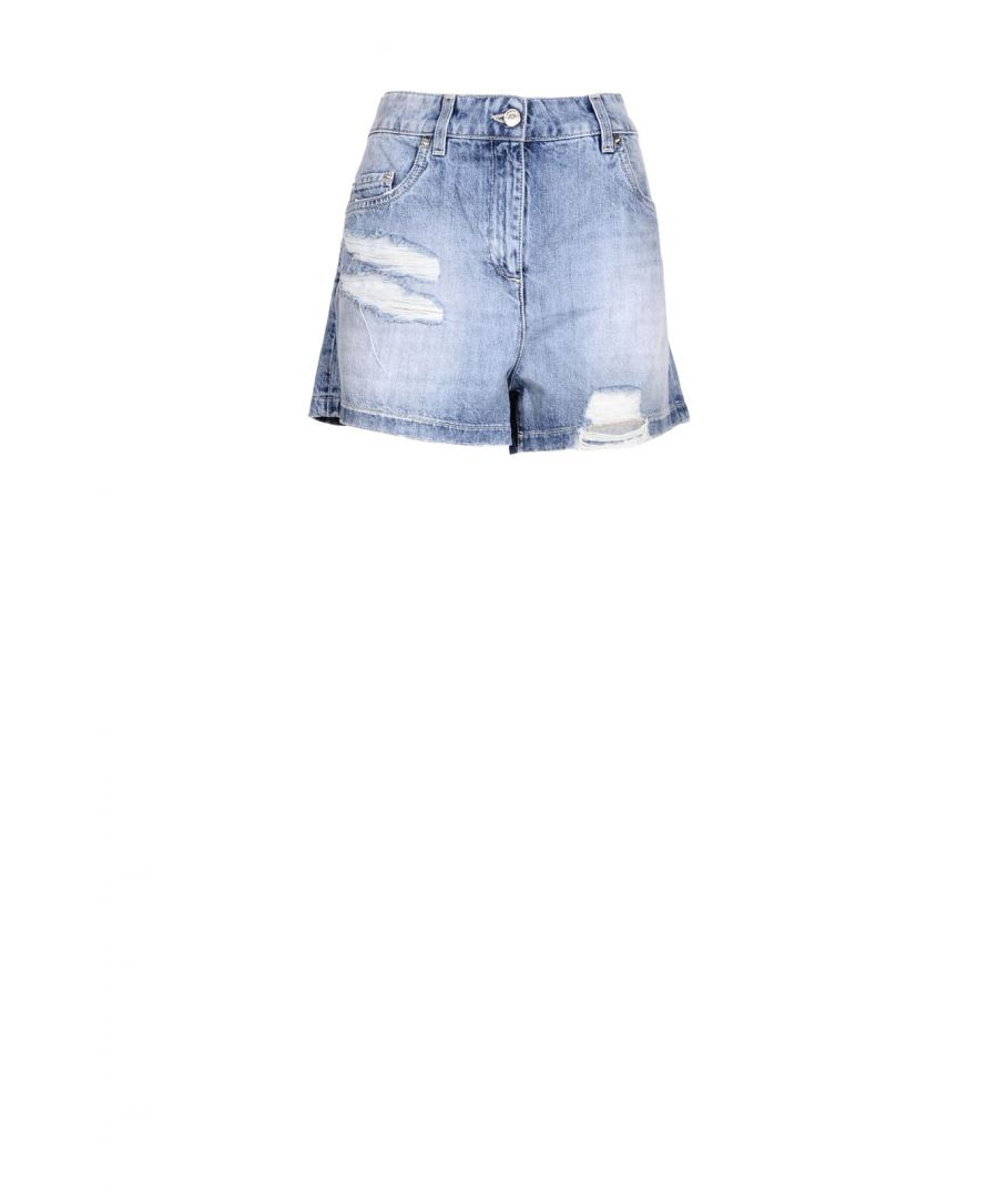 Image for Moschino Couture Women's Shorts In Blue
