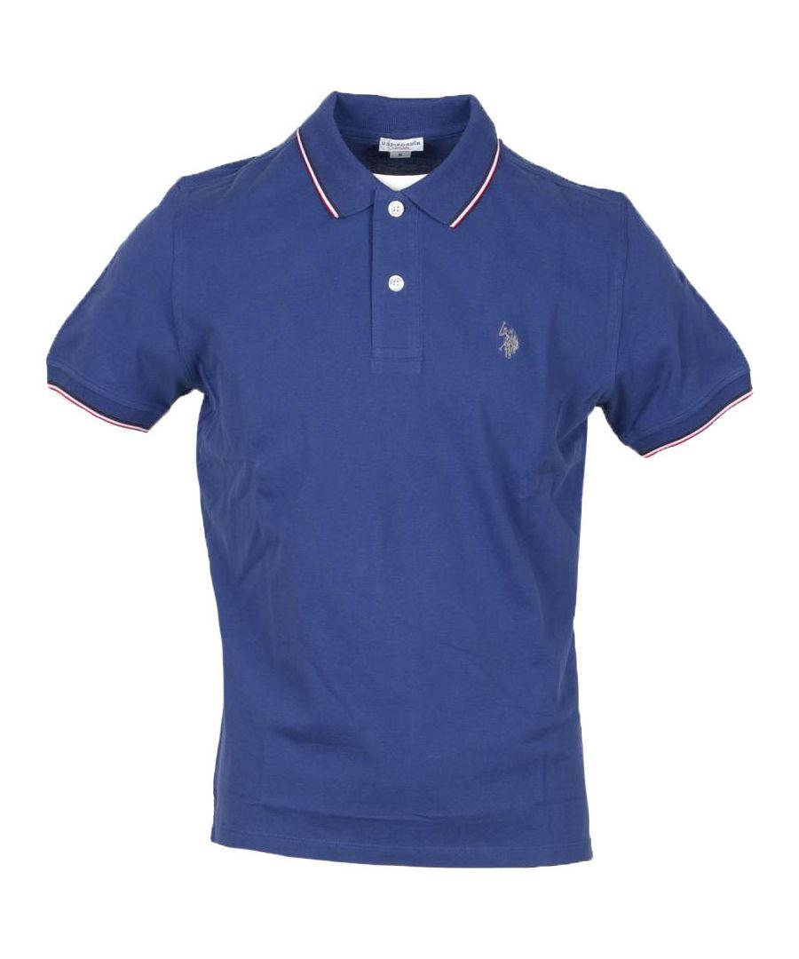 Image for U.S. Polo Assn. Men's Polo In Blue