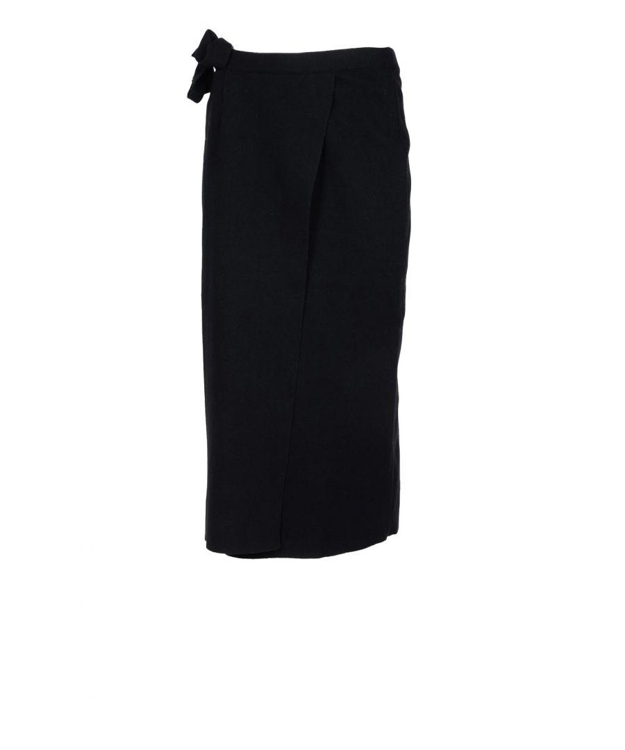 Image for Lamberto Losani Women's Skirt In Black