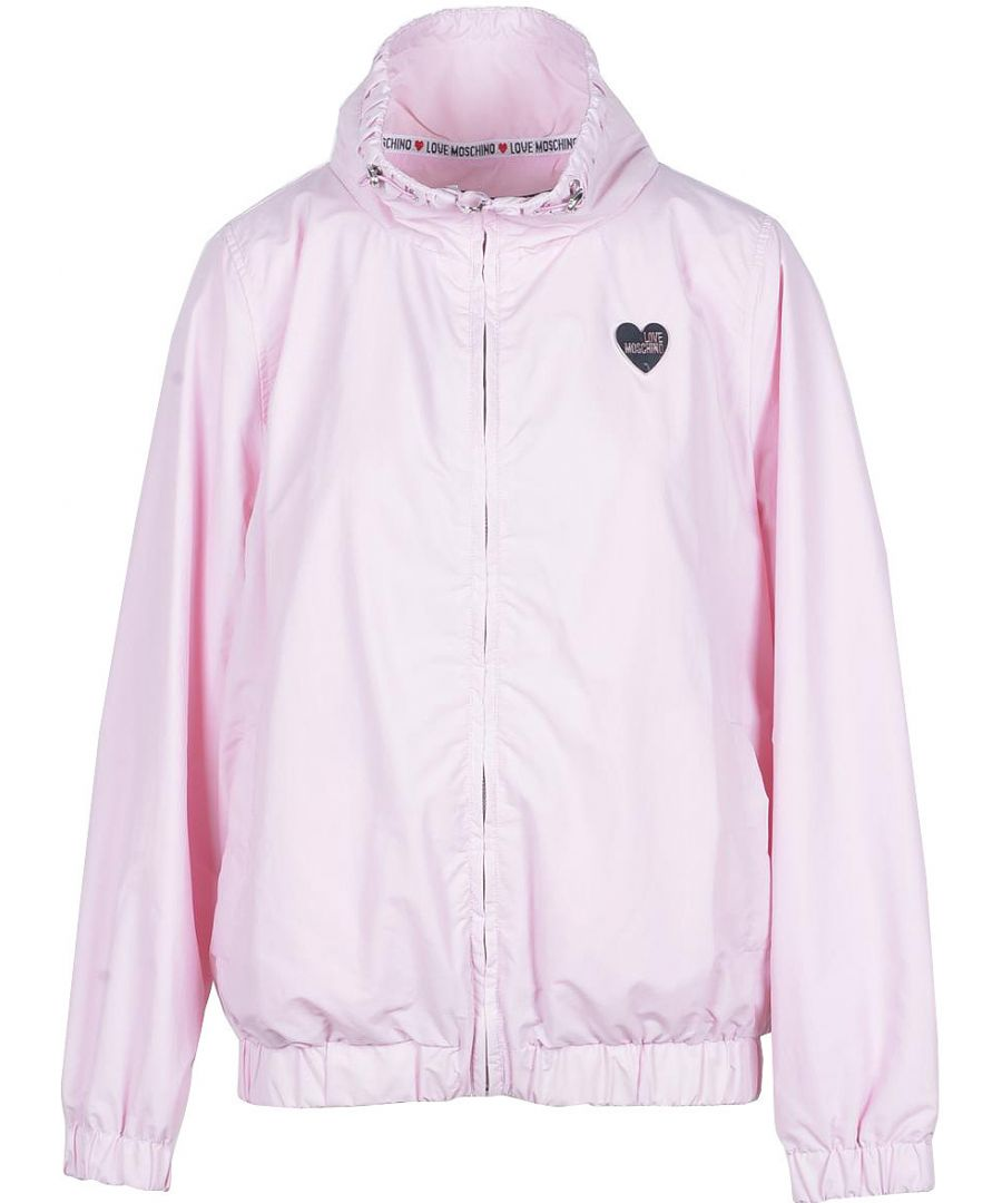 Image for Love Moschino Women's Jacket In Pink