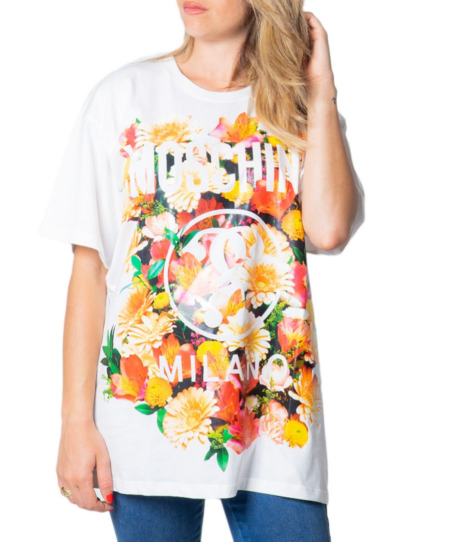 Image for Moschino Couture Women's T-Shirt In White