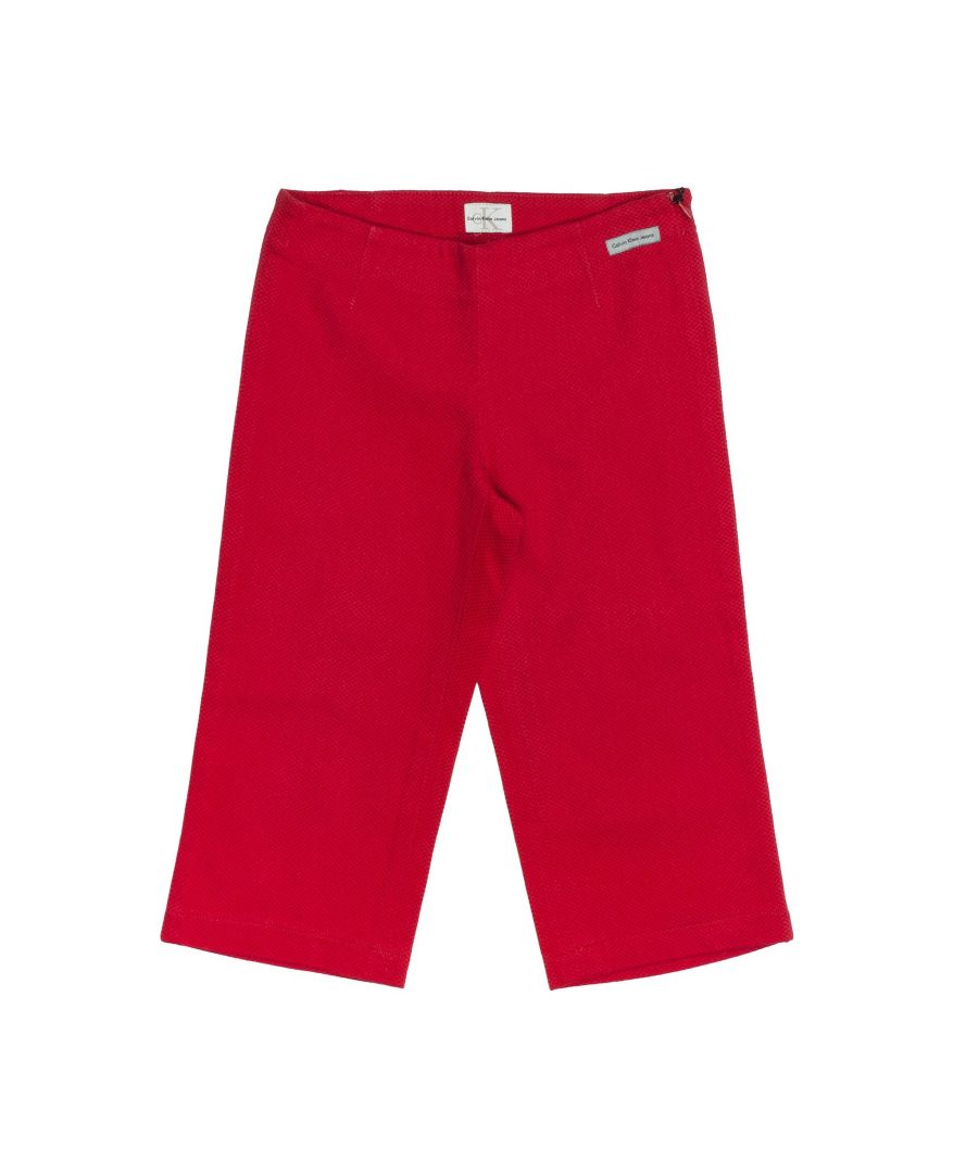 Image for Calvin Klein  Trousers In Red