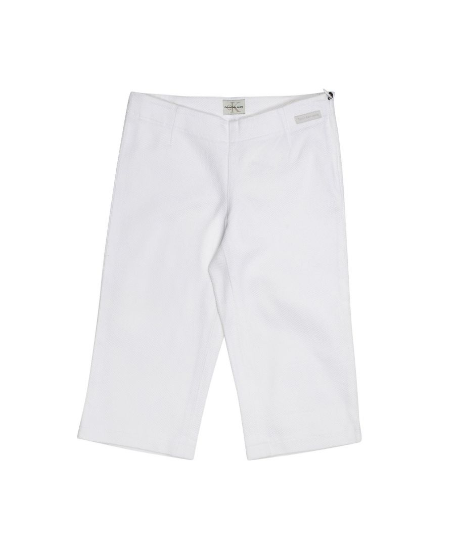 Image for Calvin Klein  Trousers In White