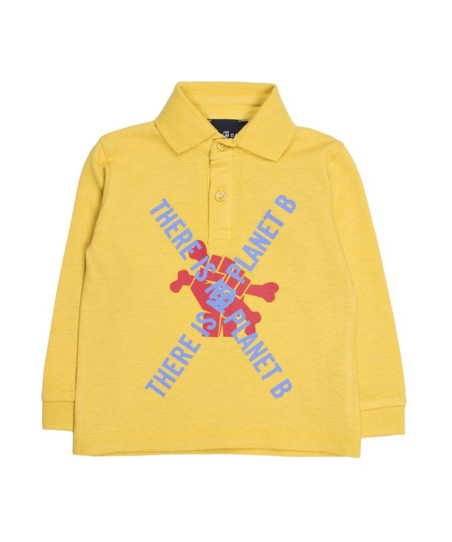Image for John Richmond  Polo In Yellow