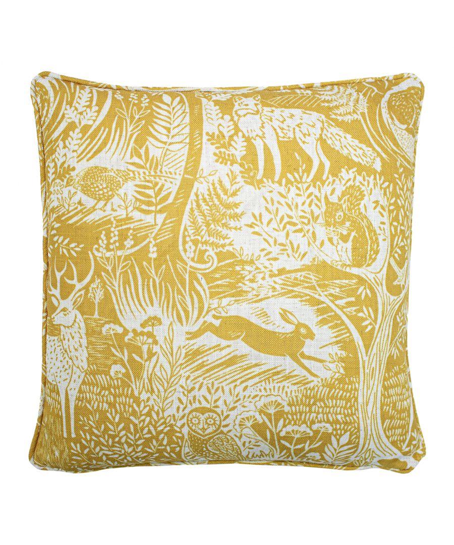 Image for Woodland Scandi Cushion