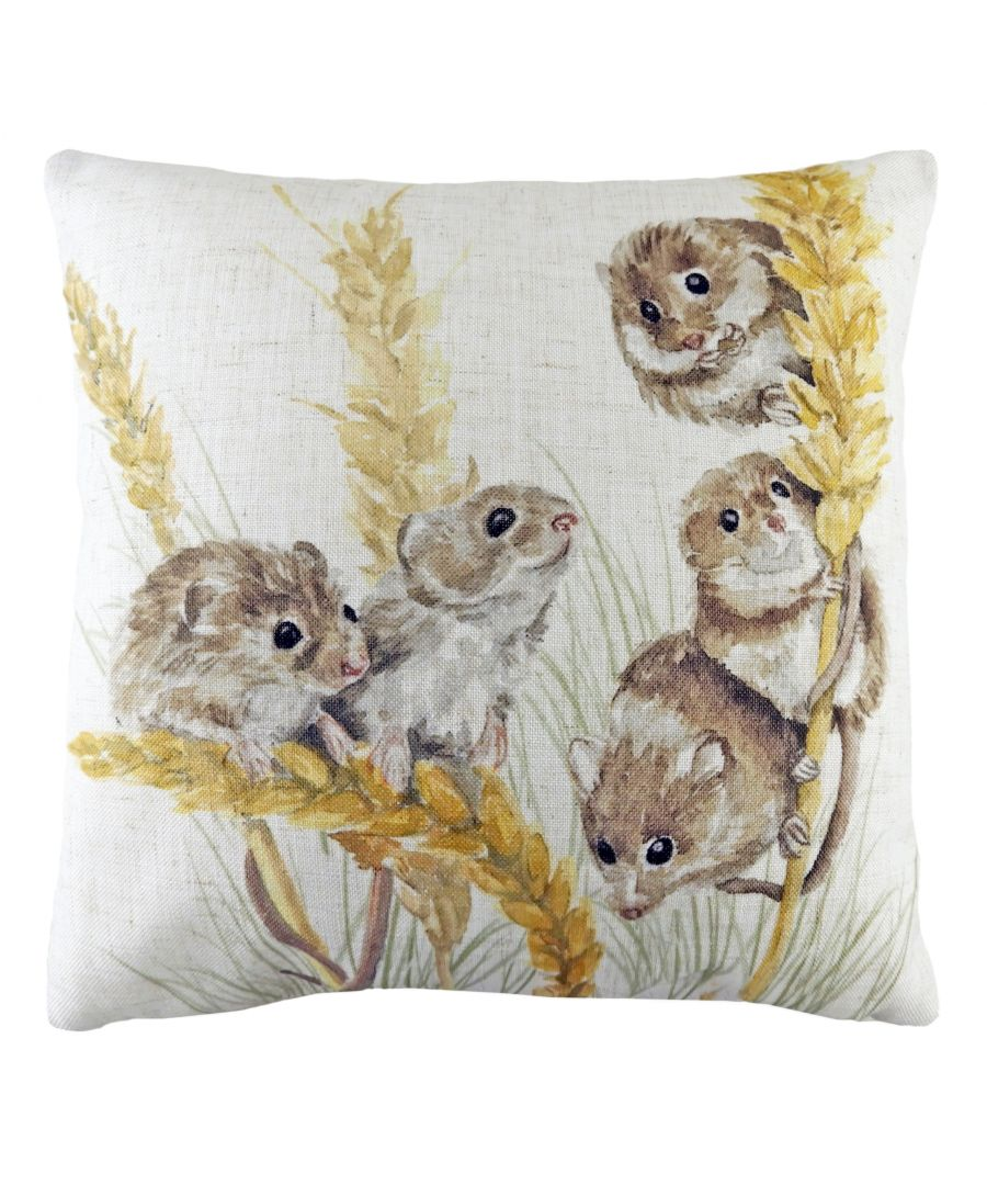Image for Woodland Field Mice Cushion