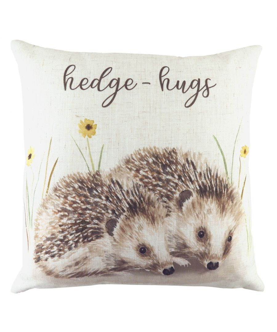 Image for Woodland Hedge Hugs Cushion
