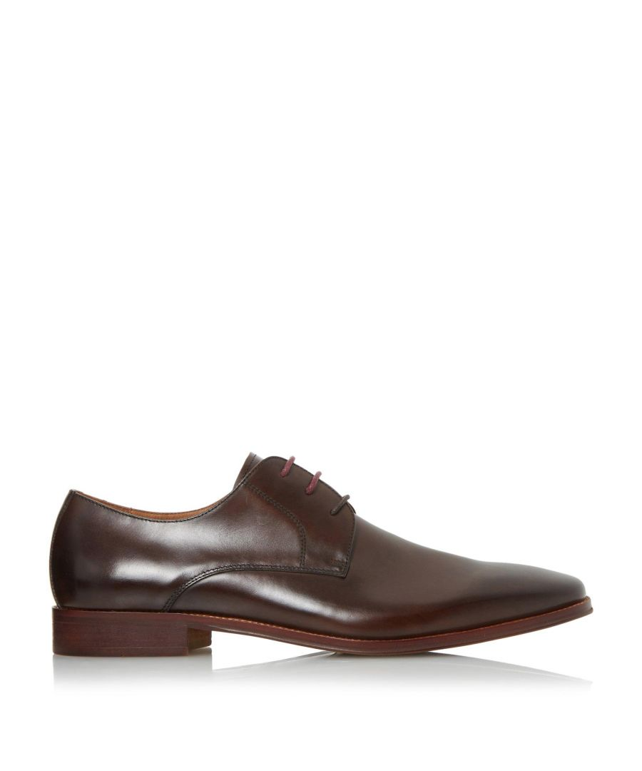 Image for Dune Mens WRICHMONDS Wide Fit Square Toe Derby Shoes
