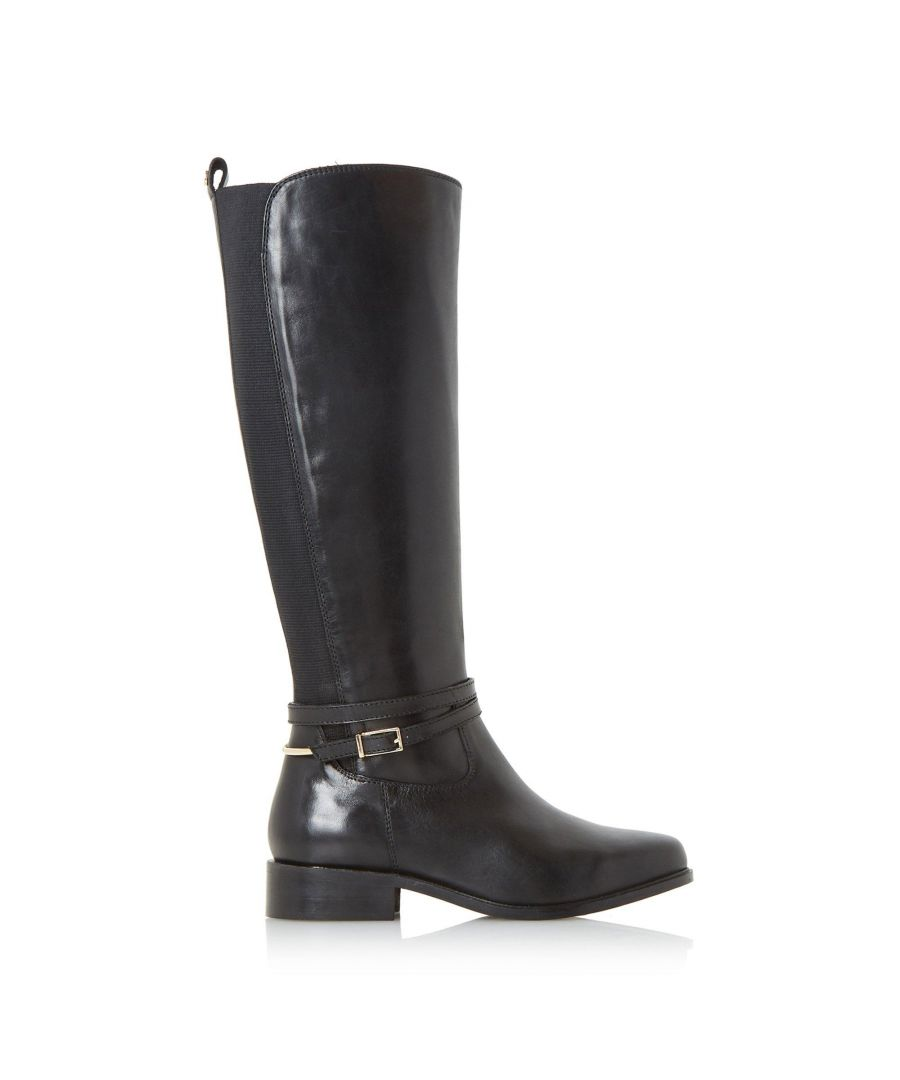 Image for Dune Ladies W TARO Wide Fit Knee High Riding Boots