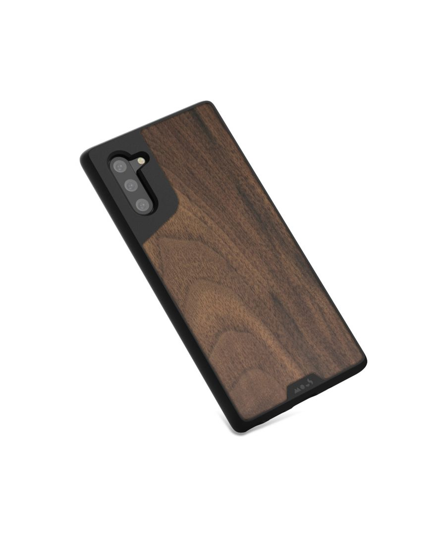 Image for Mous - Protective Case for Samsung Galaxy Note 10 - Limitless 3.0 - Walnut - No Screen Protector