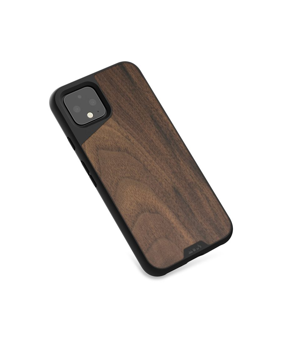 Image for Mous - Protective Case for Google Pixel 4 - Limitless 3.0 - Walnut - No Screen Protector