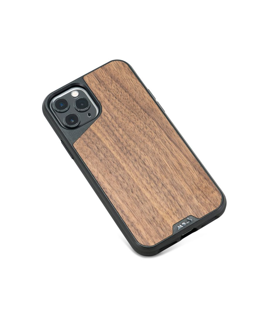 Image for Mous - Protective Case for iPhone 11 Pro Max - Limitless 3.0 - Walnut - No Screen Protector