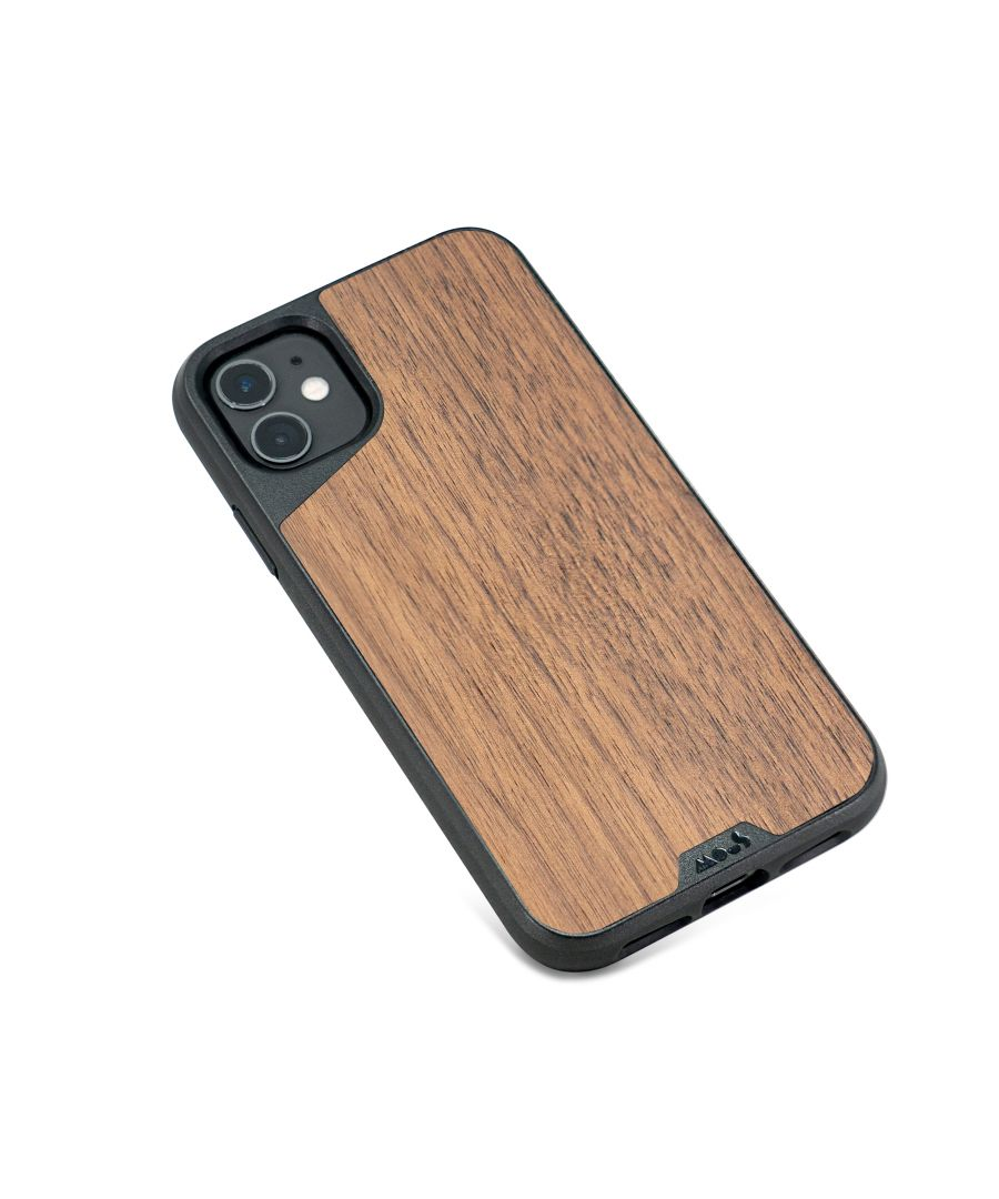 Image for Mous - Protective Case for iPhone 11 - Limitless 3.0 - Walnut - No Screen Protector