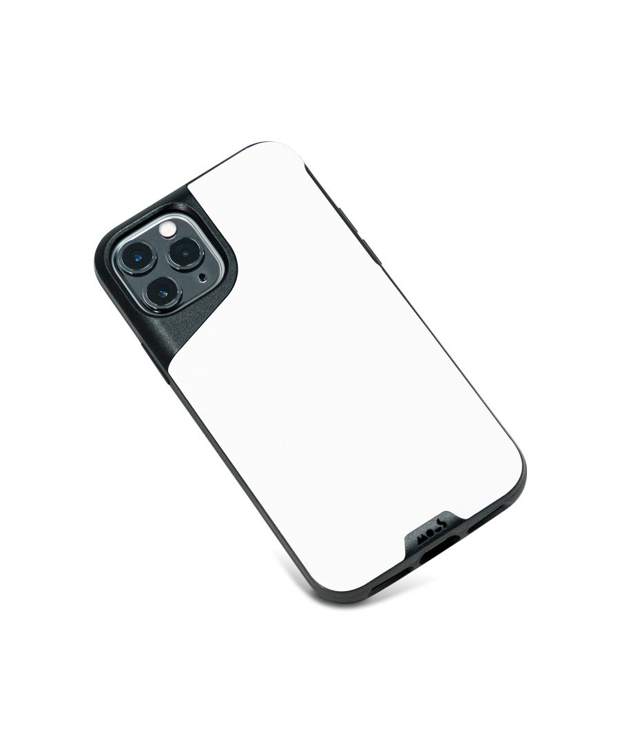 Image for Mous - Protective Case for iPhone 11 Pro Max - Contour - White Leather - No Screen Protector