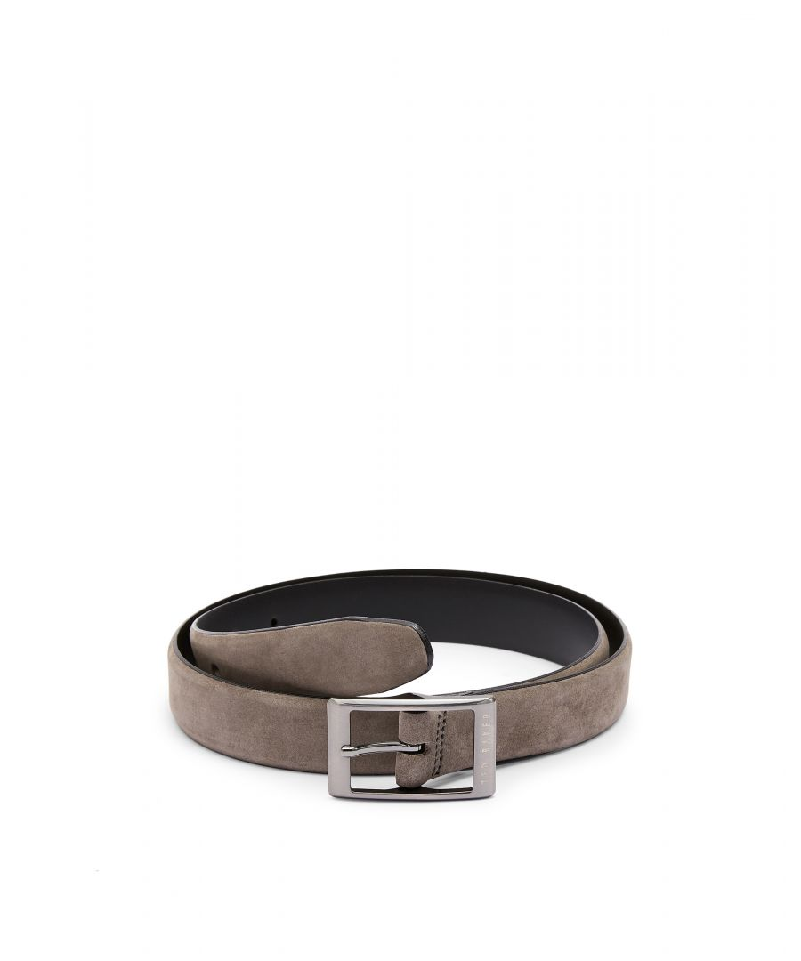 Image for Ted Baker Chand Nuckbuck Centre Bar Belt, Grey
