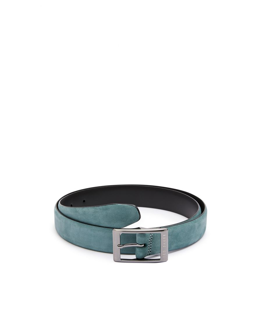 Image for Ted Baker Chand Nuckbuck Centre Bar Belt, Turquoise
