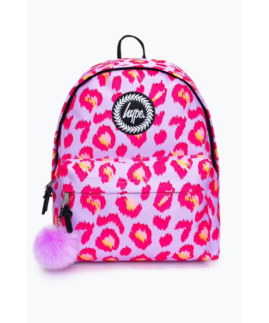 Image for Hype Party Leopard Backpack