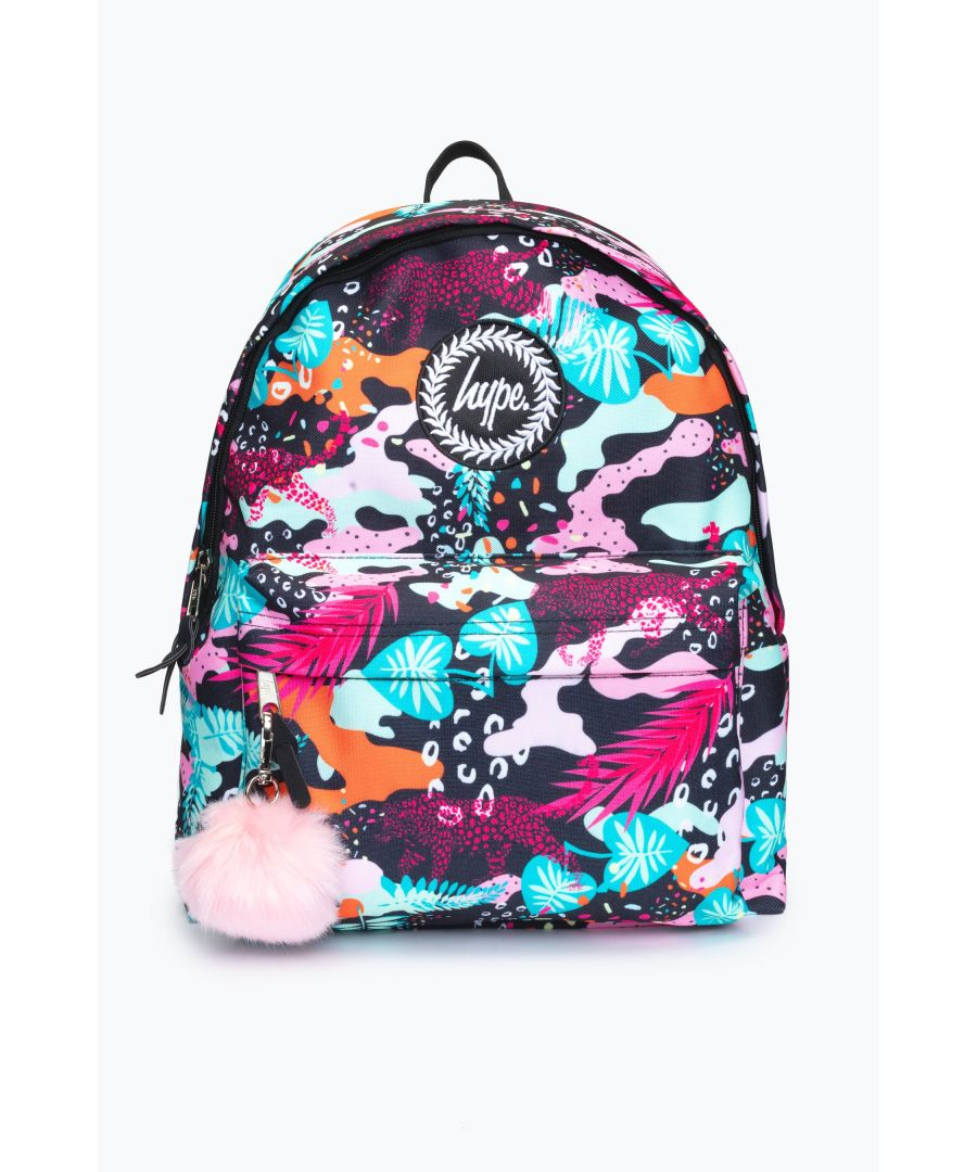 Image for Hype Leopard Camo Backpack