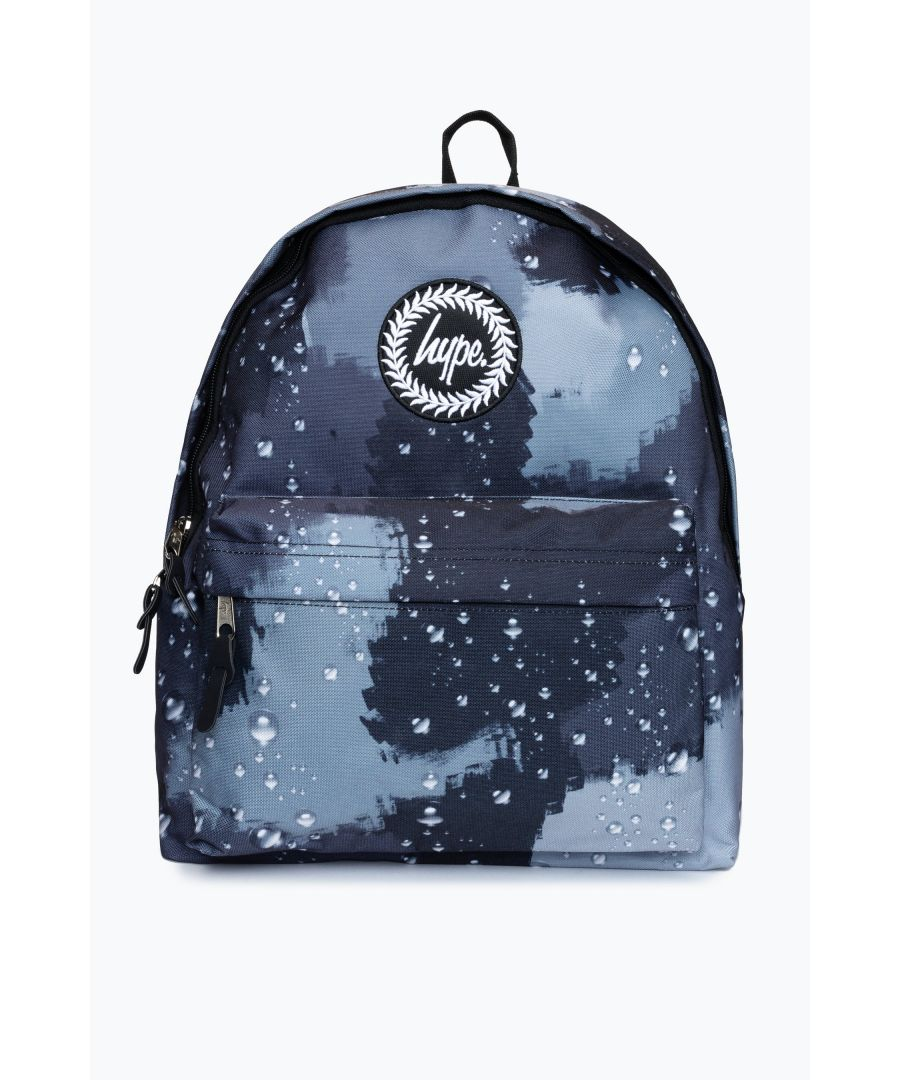 Image for Hype Black Rain Drop Camo Backpack
