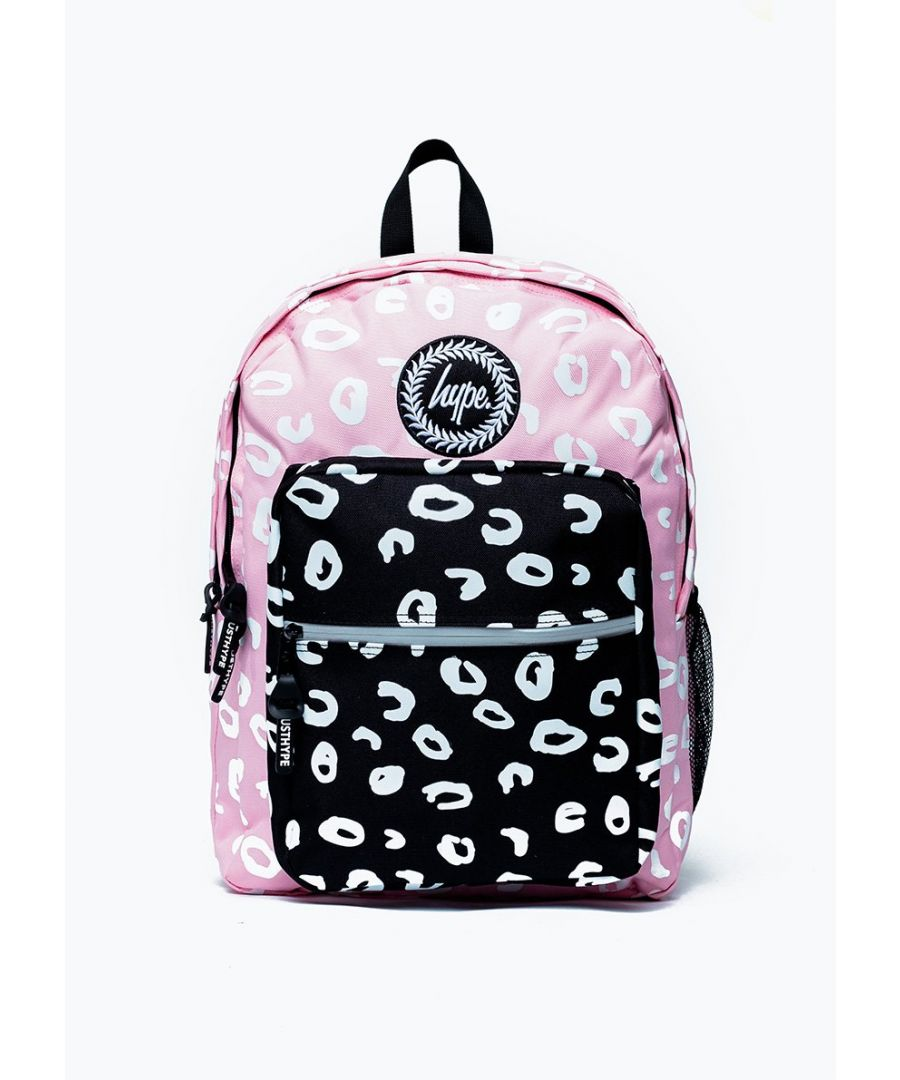 Image for Hype Mixed Marker Leopard Utility Backpack