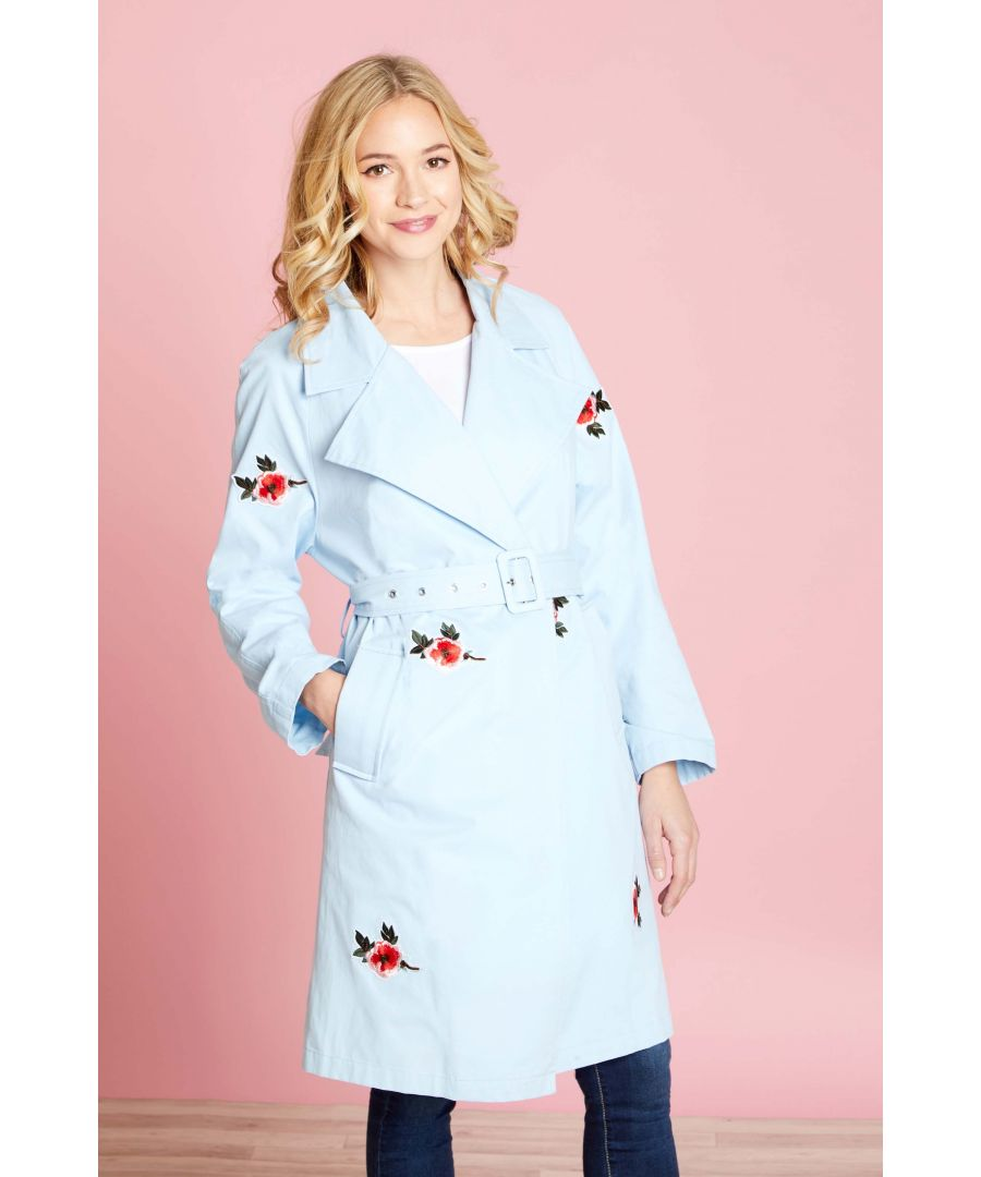Image for TRENCH COAT WITH EMBROIDERY
