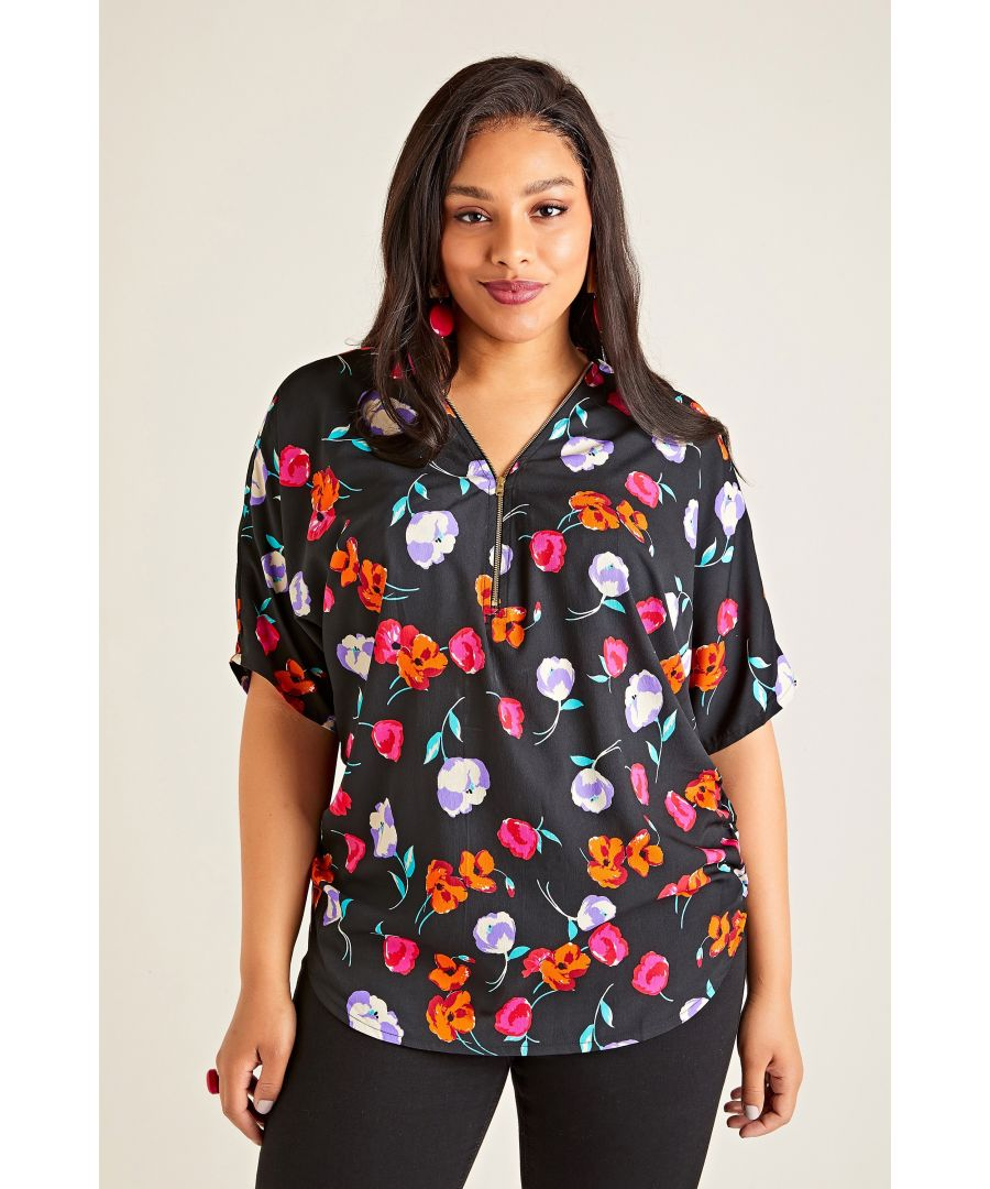 Image for Poppy Zip Top