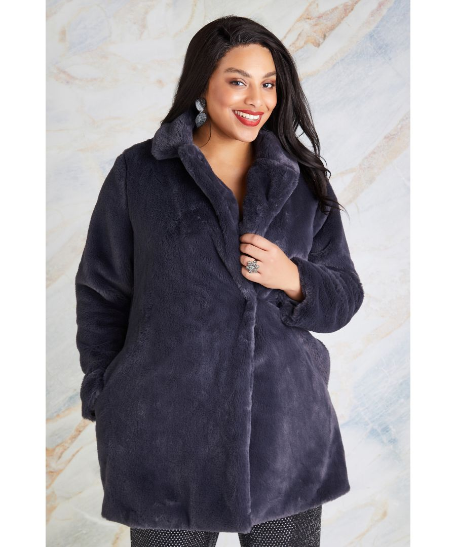Image for Fur Collar Jacket