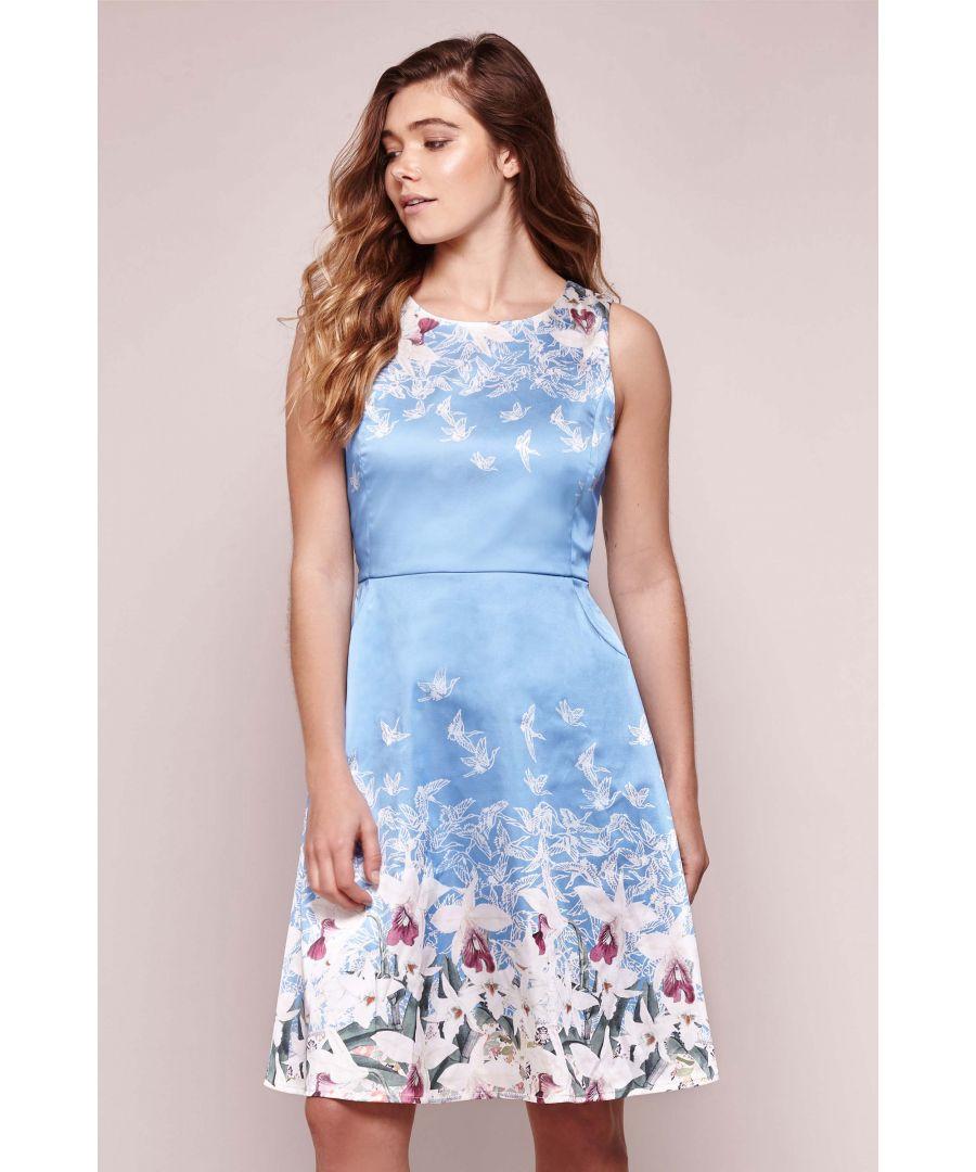 Image for Valentine Stretch Satin Dress