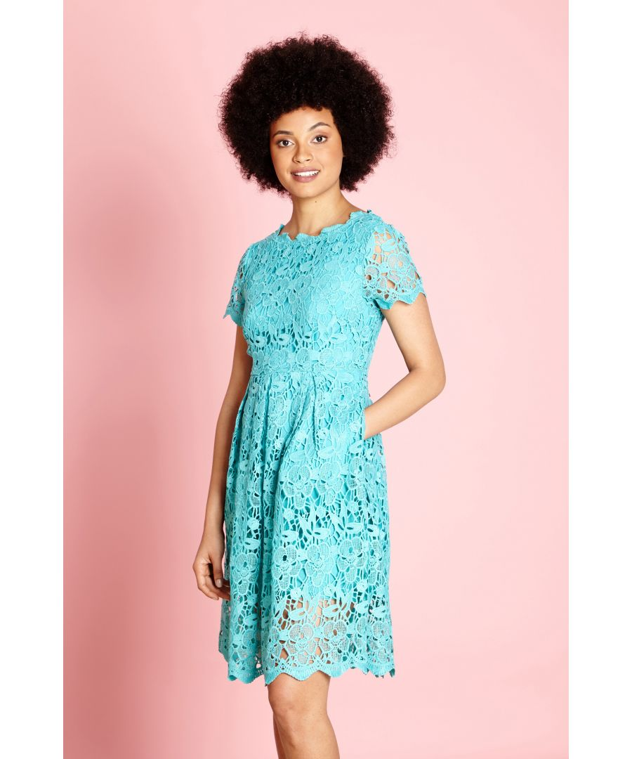 Image for Guipure Lace Dress