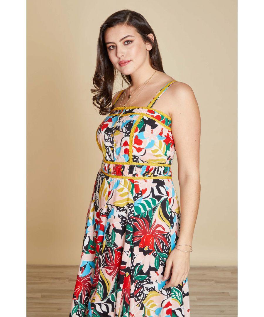 Image for Jungle Floral Dress