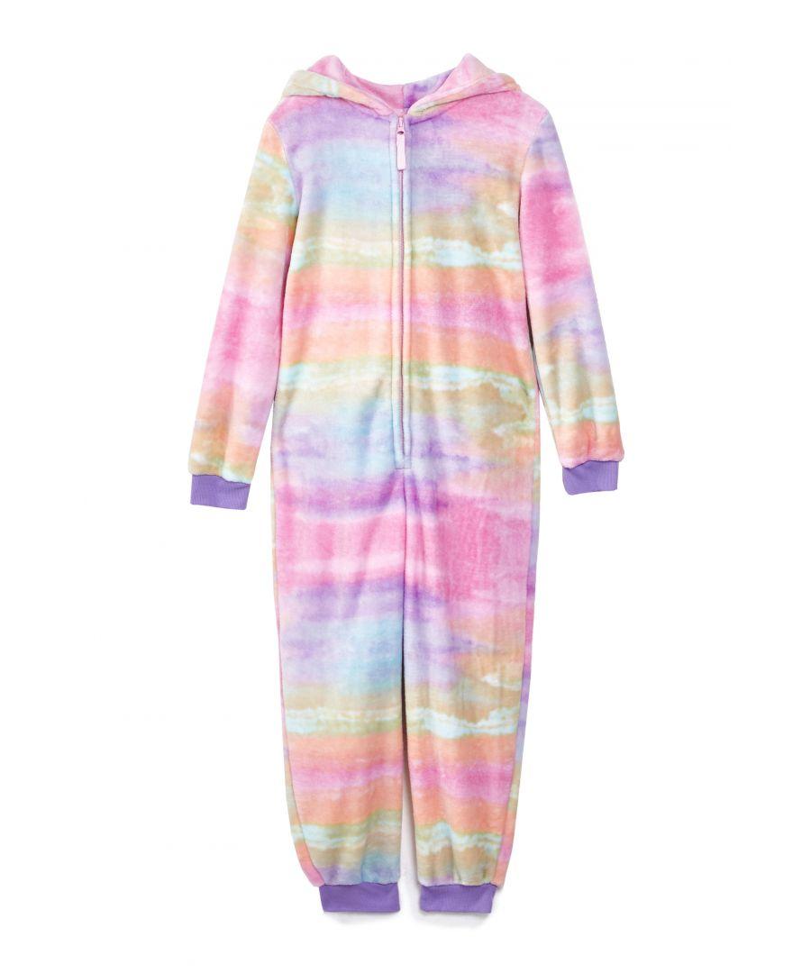 Image for Yumi Girls Rainbow Unicorn Robe