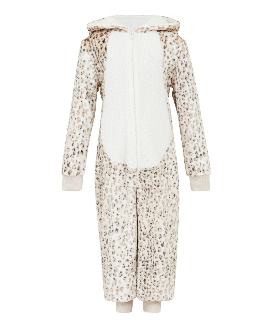 Image for Yumi Girls Girls Leopard Print Luxury Flannel Fleec