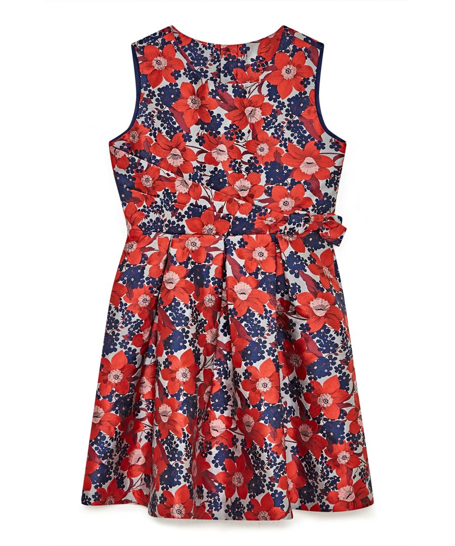 Image for Festive Floral Prom Dress