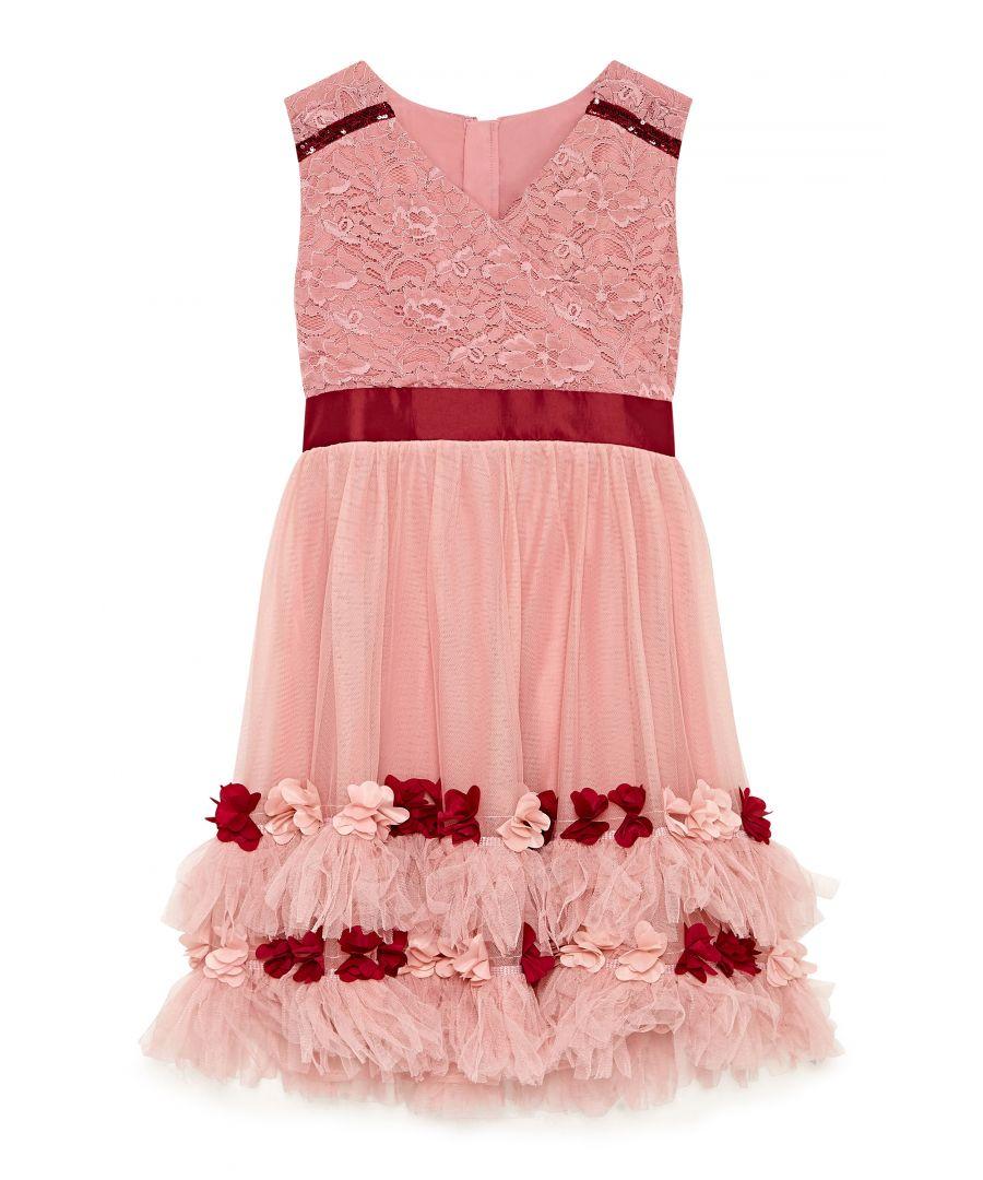 Image for Rose Border Prom Dress