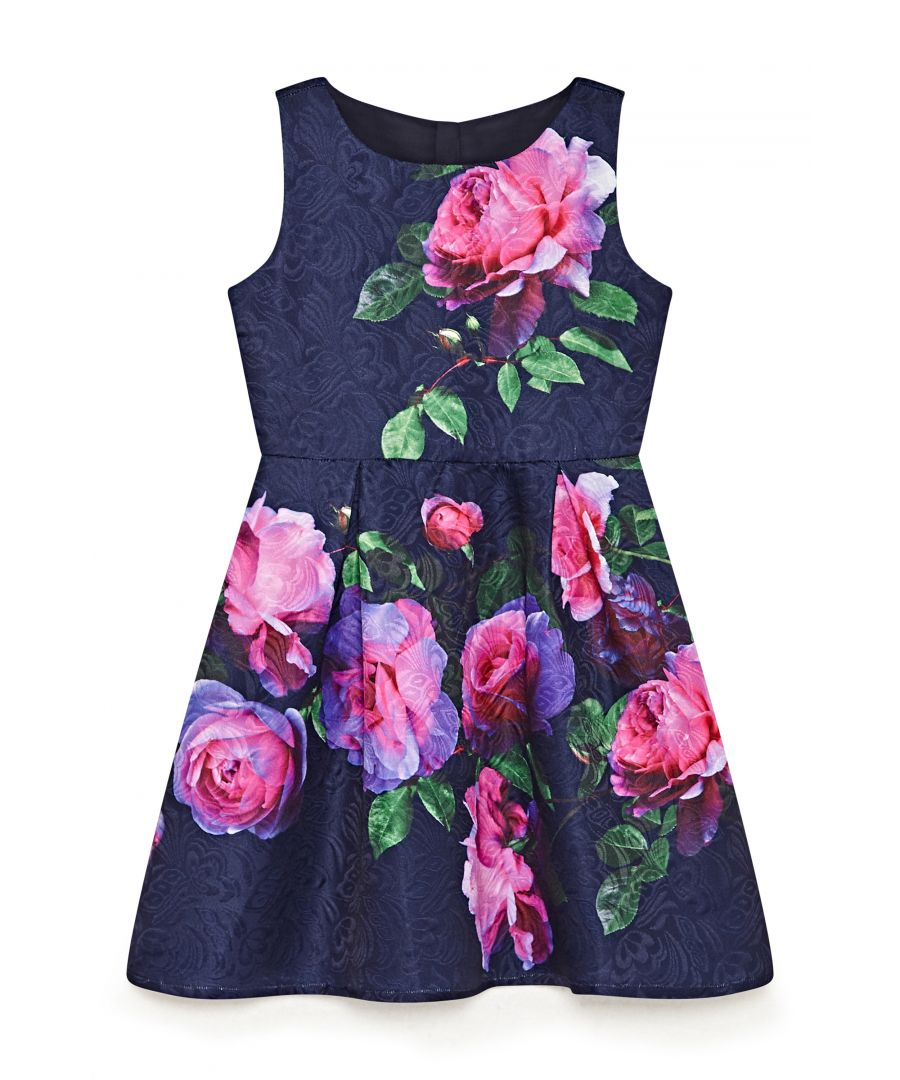 Image for Oversized Rose Occasion Dress