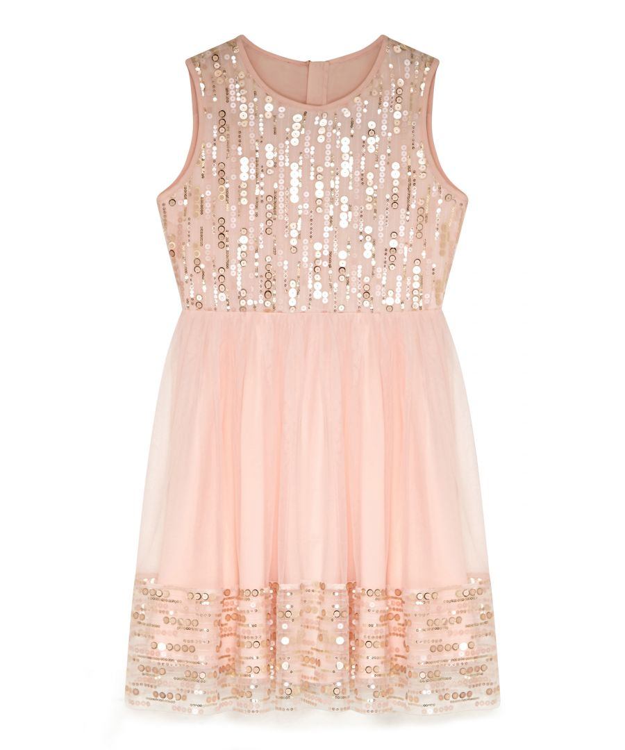 Image for Sequin Panel Party Dress